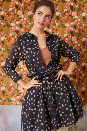 ll210250 - Lilith Fiona Shirt Dress @ Walkers.Style women's and ladies fashion clothing online shop