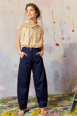 ll210251 - Lilith Felix Denim Trouser @ Walkers.Style buy women's clothes online or at our Norwich shop.