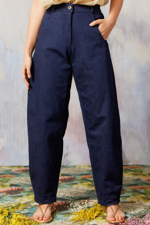 ll210251 - Lilith Felix Denim Trouser @ Walkers.Style women's and ladies fashion clothing online shop