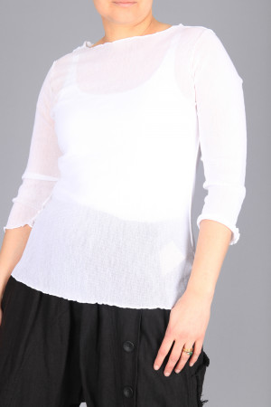 cl210258 - Cut Loose Mesh Top @ Walkers.Style women's and ladies fashion clothing online shop