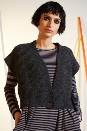 ll210264 - Lilith Gary Knitted Vest @ Walkers.Style buy women's clothes online or at our Norwich shop.