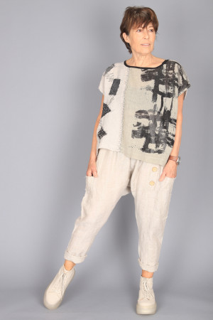 mg210269 - Mara Gibbucci Harem Trousers @ Walkers.Style buy women's clothes online or at our Norwich shop.