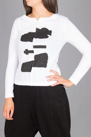 lb215045 - Lurdes Bergada Printed T-Shirt @ Walkers.Style women's and ladies fashion clothing online shop