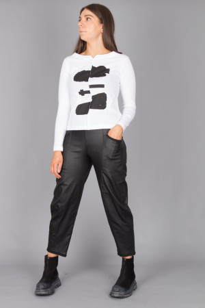 lb215045 - Lurdes Bergada Printed T-Shirt @ Walkers.Style buy women's clothes online or at our Norwich shop.