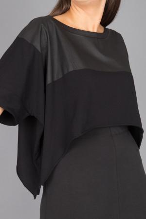 lb215047 - Lurdes Bergada Cropped T-Shirt @ Walkers.Style women's and ladies fashion clothing online shop