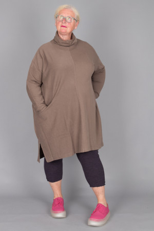 lb215050 - Lurdes Bergada Oversize Dress @ Walkers.Style buy women's clothes online or at our Norwich shop.