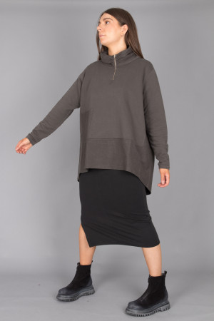 lb215051 - Lurdes Bergada Oversize Jersey @ Walkers.Style buy women's clothes online or at our Norwich shop.