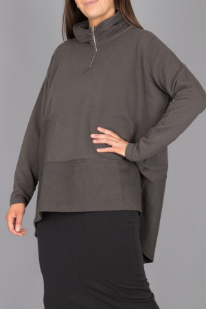 lb215051 - Lurdes Bergada Oversize Jersey @ Walkers.Style women's and ladies fashion clothing online shop