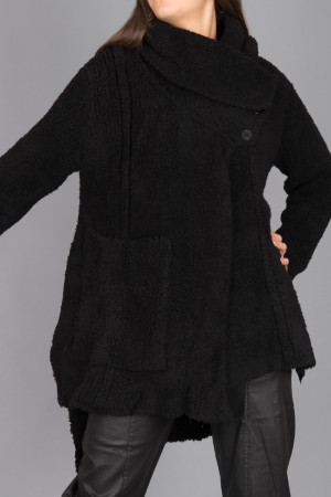 lb215054 - Lurdes Bergada Knitted Jacket @ Walkers.Style women's and ladies fashion clothing online shop