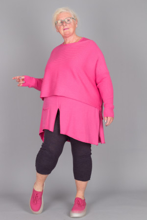 pc215066 - Philomena Christ Rib Sweater @ Walkers.Style buy women's clothes online or at our Norwich shop.