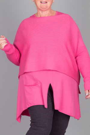 pc215066 - Philomena Christ Rib Sweater @ Walkers.Style women's and ladies fashion clothing online shop