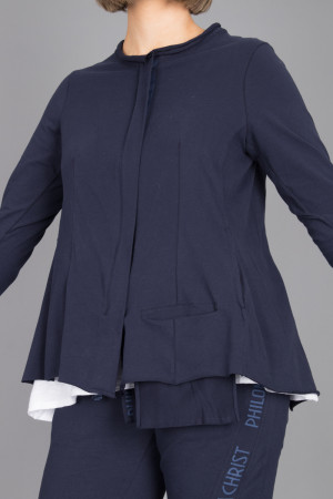 pc215072 - Philomena Christ Zip Jacket @ Walkers.Style women's and ladies fashion clothing online shop