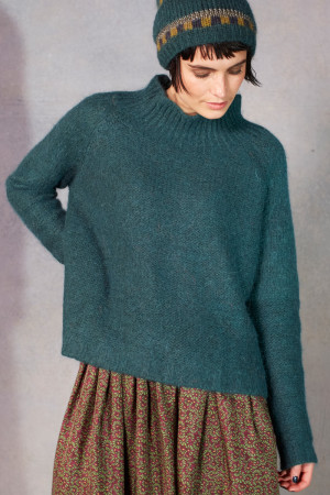 ll215077 - Lilith Hanah Plain Sweater @ Walkers.Style women's and ladies fashion clothing online shop