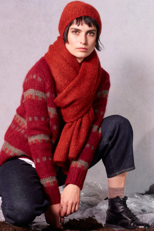 ll215078 - Lilith Hanah Jacquard Sweater @ Walkers.Style buy women's clothes online or at our Norwich shop.