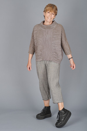 gz215086 - Grizas Textured Top @ Walkers.Style buy women's clothes online or at our Norwich shop.