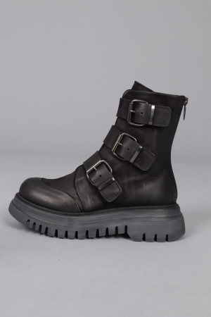 lf215087 - Lofina Buckle Boots @ Walkers.Style women's and ladies fashion clothing online shop