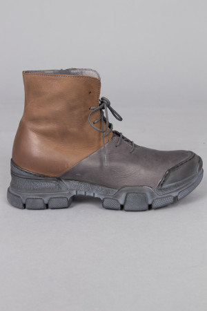 lf215093 - Lofina Lace Combi Boots @ Walkers.Style women's and ladies fashion clothing online shop