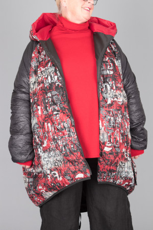 mg215095 - Mara Gibbucci Hood Coat @ Walkers.Style women's and ladies fashion clothing online shop