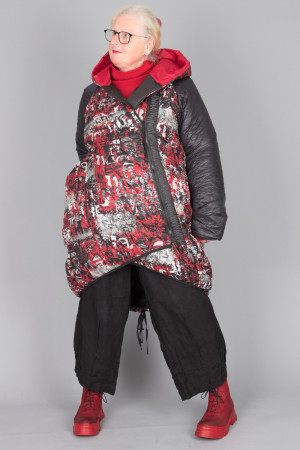 mg215095 - Mara Gibbucci Hood Coat @ Walkers.Style buy women's clothes online or at our Norwich shop.