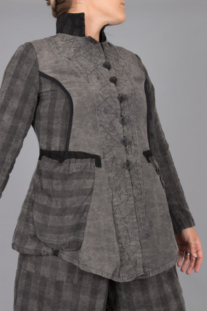mg215096 - Mara Gibbucci Grey Jacket @ Walkers.Style women's and ladies fashion clothing online shop