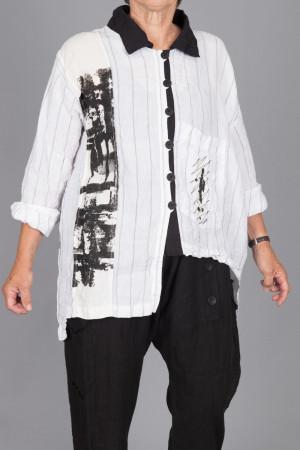 mg215097 - Mara Gibbucci Print Shirt @ Walkers.Style women's and ladies fashion clothing online shop