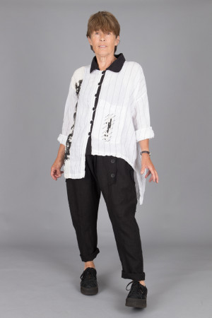 mg215097 - Mara Gibbucci Print Shirt @ Walkers.Style buy women's clothes online or at our Norwich shop.
