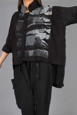 mg215098 - Mara Gibbucci Print Button Shirt @ Walkers.Style women's and ladies fashion clothing online shop