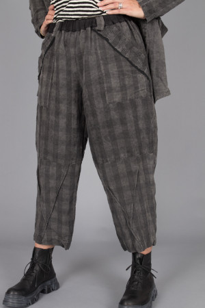 mg215101 - Mara Gibbucci Grey Check Pants @ Walkers.Style women's and ladies fashion clothing online shop