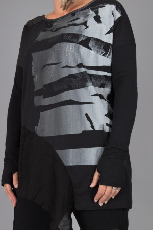 mg215106 - Mara Gibbucci Black Top @ Walkers.Style women's and ladies fashion clothing online shop
