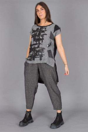 mg215109 - Mara Gibbucci Stripe Pants @ Walkers.Style buy women's clothes online or at our Norwich shop.