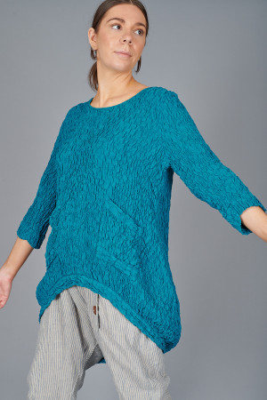 gz215112 - Grizas Textured Tunic @ Walkers.Style women's and ladies fashion clothing online shop