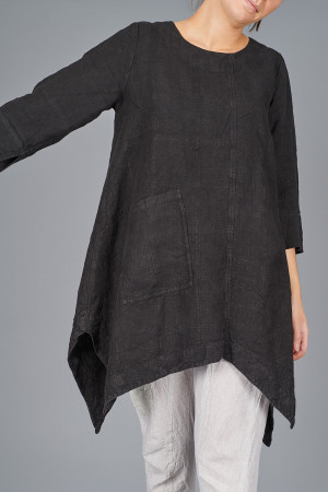 gz215113 - Grizas Asymmetric Tunic @ Walkers.Style women's and ladies fashion clothing online shop