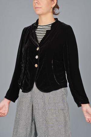 gz215119 - Grizas Velvet Jacket @ Walkers.Style women's and ladies fashion clothing online shop