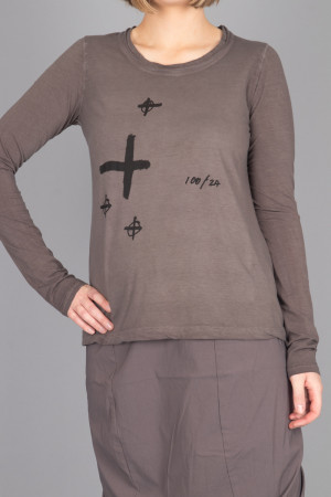 rh215203 - Rundholz Black Label T-shirt @ Walkers.Style women's and ladies fashion clothing online shop