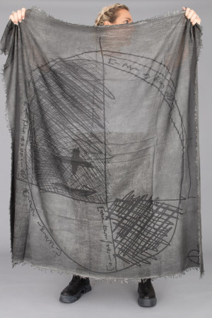 rh215221 - Rundholz Scarf @ Walkers.Style women's and ladies fashion clothing online shop